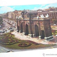 Postales: POSTAL-MADRID-PUERTA DE ALCALÁ-1964-CIRCULADA-.. Lote 42796575