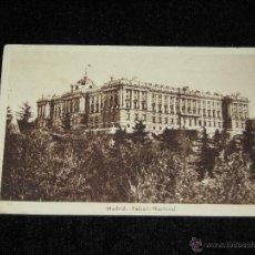 Postales: MADRID - PALACIO NACIONAL. Lote 42807579
