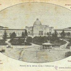Postales: MADRID - PALACIO DE LAS BELLAS ARTES E INDUSTRIAS.. Lote 42828130