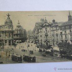 Postales: MADRID AVENIDA DEL CONDE DE PEÑALVER. Lote 42981386