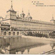 Postales: EL ESCORIAL-ESTANQUE DE LA HUERTA-H.M-M. Lote 43174731