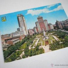 Postales: POSTAL-MADRID-ESPAÑA-PLAZA DE ESPAÑA-1950S-CIRCULADA-.. Lote 43203579