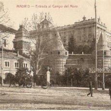 Postales: MADRID-ENTRADA AL CAMPO DEL MORO-BAZAR X.-MADRID-SIN CIRCULAR. Lote 43219031