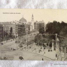 Postales: MADRID. CALLE DE ALCALÁ. HAUSER Y MENET.. Lote 43344832