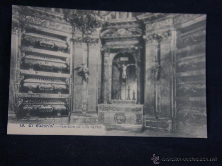 POSTAL SIN CIRCULAR 15 EL ESCORIAL PANTEÓN DE LOS REYES 14 X 9 CM (Postales - España - Comunidad de Madrid Antigua (hasta 1939))