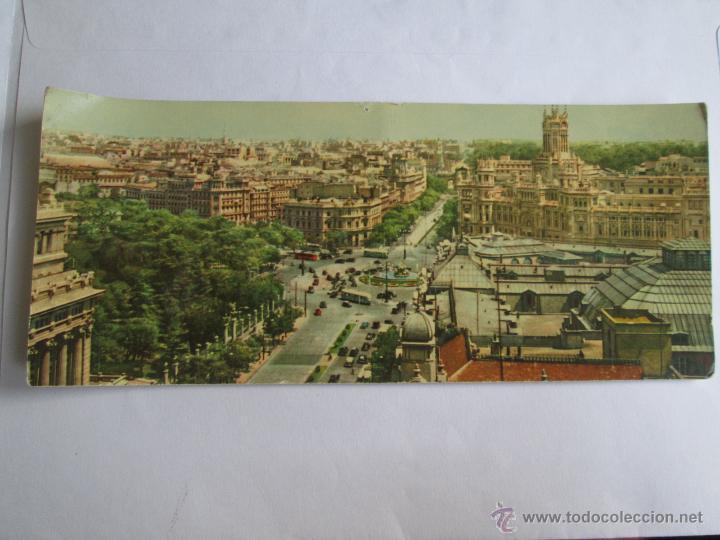 VISTA PANORAMICA DE LA CIBELES Y CALLE DE ALCALA MADRID 201 (Postales - España - Madrid Moderna (desde 1940))