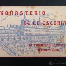 Postales: EL ESCORIAL 20 POSTALES EN ACORDEON. Lote 43361406