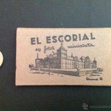 Postales: RECUERDO DEL ESCORIAL CON POSTALES EN ACORDEÓN. Lote 43361994