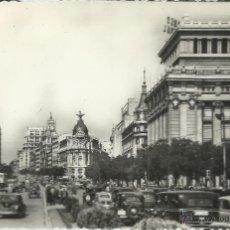 Postales: MADRID CALLE ALCALA SIN ESCRIBIR. Lote 43376311