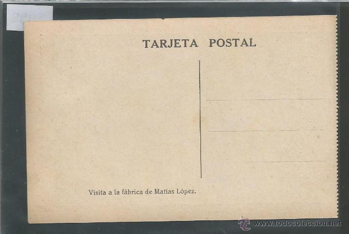 Postales: VISITA FABRICA CHOCOLATES MATIAS LOPEZ - COLONIAS ESCOLARES - (3498) - Foto 2 - 43426675