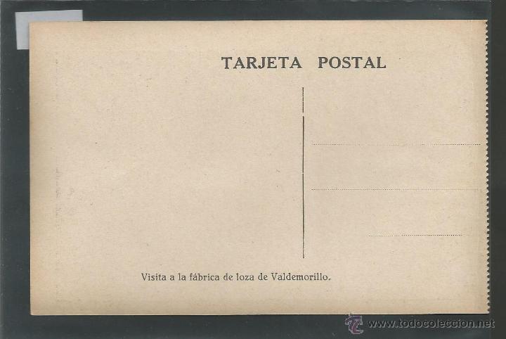 Postales: VALDEMORILLO - VISITA FABRICA LOZA - COLONIAS ESCOLARES - (3499) - Foto 2 - 43426694