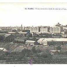 Postales: MADRID VISTA PANORAMICA DESDE EL CERRO DE LA PLATA. ED. J. LACOSTE. SIN CIRCULAR. Lote 43426938