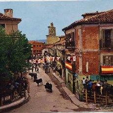 Postales: TORRELAGUNA (MADRID).- ENCIERROS TIPICOS.. Lote 43577282