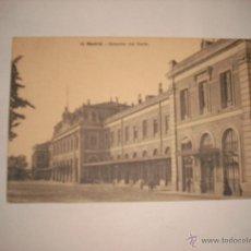 Postales: MADRID . ESTACION DELNORTE Nº 53 LACOSTE CIRCULADA 1914. Lote 43584169