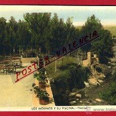Postales: POSTAL GUADARRAMA, MADRID, LOS MOLINOS Y SU PISCINA, PISCINA, P94734. Lote 43748016