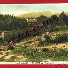 Postales: POSTAL GUADARRAMA, MADRID, LOS MOLINOS Y SU PISCINA, PISCINA, P94736. Lote 43748038