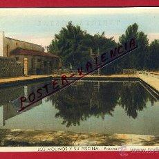Postales: POSTAL GUADARRAMA, MADRID, LOS MOLINOS Y SU PISCINA, PISCINA, P94738. Lote 43748065