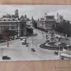 Postales: POSTAL MADRID, LA CIBELES Y CALLE DE ALCALÁ Nº 3. Lote 43793234