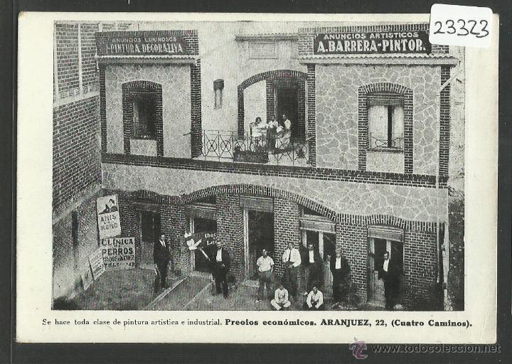 MADRID - A.BARRERA PINTOR POSTAL PUBLICITARIA - VER REVERSO (23323) (Postales - España - Comunidad de Madrid Antigua (hasta 1939))