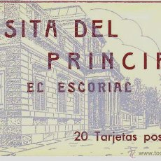 Postales: ALBUM DESPLEGABLE.COLECCION COMPLETA DE 20 POSTALES. CASITA DEL PRINCIPE. HAUSER Y MENET. CA.1930. Lote 43860400