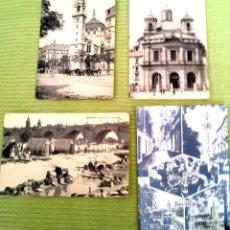Postales: LOTE CUATRO POSTALES ANTIGUAS MADRID. Lote 43895366