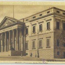 Cartes Postales: POSTAL DE MADRID: CONGRESO DE LOS DIPUTADOS P-MAD-390. Lote 43999563