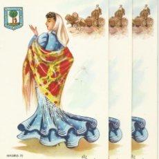 Postales: LOTE DE TRES POSTALES ANTIGUAS DE MADRID. Lote 44008458