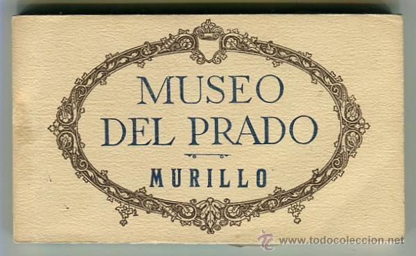MADRID BLOC DE 20 POSTALES MUSEO DEL PRADO - MURILLO - FOTOTIPIA HAUSER Y MENET (Postales - España - Madrid Moderna (desde 1940))
