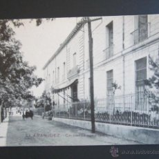Postales: POSTAL MADRID. ARANJUEZ. COLEGIO DE SANTA CRISTINA. . Lote 44233927