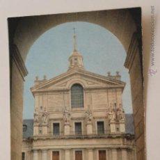 Postales: POSTAL EL ESCORIAL FOTO TORREMOCHA. Lote 44265639