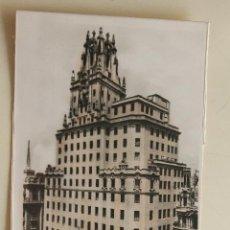 Postales: POSTAL PALACIO DE LA TELEFONICA MADRID. Lote 44268195