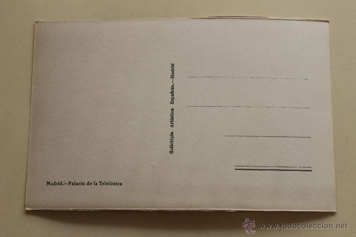 Postales: POSTAL PALACIO DE LA TELEFONICA MADRID - Foto 2 - 44268195