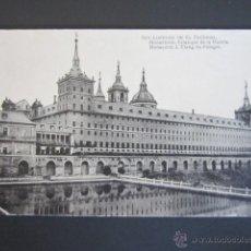 Postales: POSTAL MADRID. EL ESCORIAL. SAN LORENZO DEL ESCORIAL. MONASTERIO. . Lote 44288696