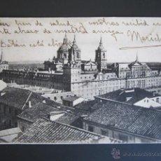 Postales: POSTAL MADRID. EL ESCORIAL. MONASTERIO DEL ESCORIAL. . Lote 44288764