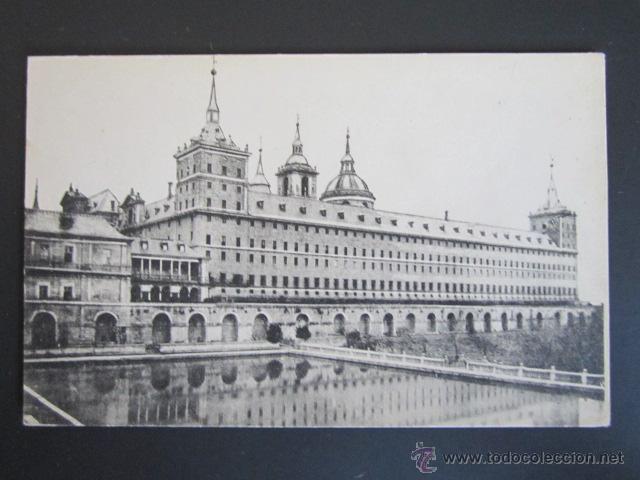 POSTAL MADRID. EL ESCORIAL. MONASTERIO DEL ESCORIAL. (Postales - España - Comunidad de Madrid Antigua (hasta 1939))
