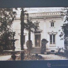 Postales: POSTAL MADRID. CLINICA BARTRINA. MANUEL BECERRA, 10 Y 12. PABELLÓN CONSULTORIO.. Lote 44301240