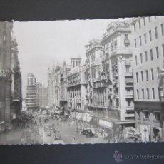 Postales: POSTAL MADRID. AVENIDA DE JOSE ANTONIO. CIRCULADA.. Lote 44301461
