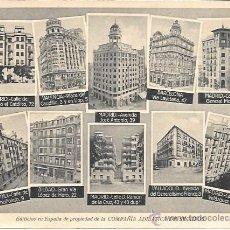Postales: MADRID - COMPAÑÍA ADRIÁTICA DE SEGUROS - HELIOTIPIA DE KALLMEYER Y GAUTIER - SIN CIRCULAR. Lote 44301833