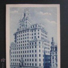 Postales: POSTAL MADRID. LA TELEFONICA. . Lote 44321925