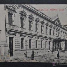 Postales: ANTIGUA POSTAL DE MADRID. SENADO. FOTPIA. CASTAÑEIRA. SIN CIRCULAR. Lote 44332260