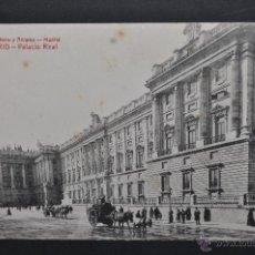 Postales: ANTIGUA POSTAL DE MADRID. PALACIO REAL. FOTPIA. CASTAÑEIRA. SIN CIRCULAR. Lote 44332400