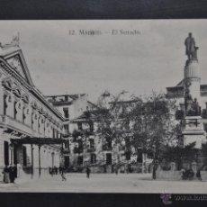 Postales: ANTIGUA POSTAL DE MADRID. EL SENADO. SIN CIRCULAR. Lote 44332514