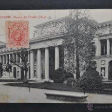 Postales: ANTIGUA POSTAL DE MADRID. MUSEO DEL PRADO, OESTE. FOTPIA. THOMAS. CIRCULADA. Lote 44352673