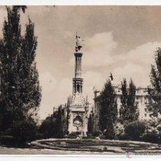 Postales: MADRID Nº 122 .- MONUMENTO A COLON .- EDICIONES F. MOLINA . Lote 44555227