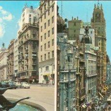 Cartoline: MADRID, GRAN VIA - J.L.GALLEGOS Nº 310 - CIRCULADA. Lote 44673492
