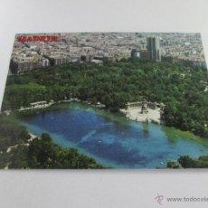Postales: Aª POSTAL-MADRID-ESPAÑA-ESTANQUE DEL RETIRO-1966-SIN CIRCULAR-NUEVA-.. Lote 44720389
