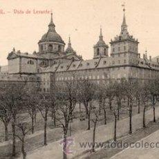 Postales: ANTIGUA POSTAL - EL ESCORIAL MONASTERIO - VISTA LEVANTE - ED. NICOLAS SERRANO - NUEVA. Lote 44856628