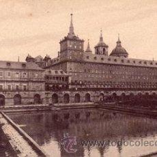 Postales: ANTIGUA POSTAL - EL ESCORIAL MONASTERIO - FACHADA LATERAL - ED. NICOLAS SERRANO - NUEVA. Lote 44856656