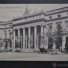 Postales: ANTIGUA POSTAL DE MADRID. BOLSA DE COMERCIO. SIN CIRCULAR. Lote 44891409