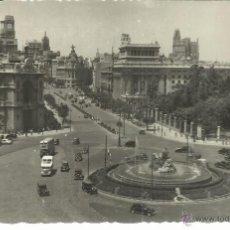 Postales: MADRID CIBELES ESCRITA. Lote 45008396